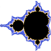Image of Madelbrot fractal courtesy of DMS 423 - Class 22 (click for more details). Image modified for reuse as per Creative Commons license.